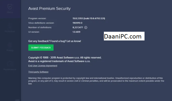 Avast Premium Security Crack + Key Free Download - DaaniPC